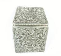 Vintage Italian 800 Silver Purse Mirror (2 of 9)