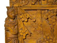 Early 20th Century Chinese Style Carved Camphorwood Chest (10 of 11)