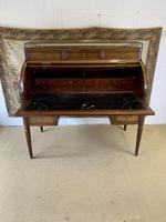 Stunning French Empire Cylinder Desk with Marble Top (6 of 11)