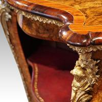 Victorian Inlaid Walnut Side Cabinet (11 of 17)
