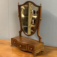 English Regency Serpentine Dressing Table Mirror (5 of 5)