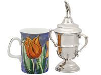 Sterling Silver Cup and Cover Antique George V 1933 (5 of 12)