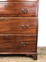 Antique Edwardian Mahogany Chest of Drawers (14 of 15)