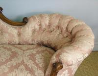 Victorian Carved Mahogany Frame Sofa (5 of 11)