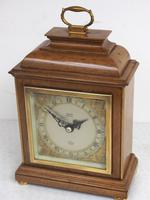 Perfect Vintage Mantel Clock Caddy Top Bracket Clock by Elliott of London Retailed by Thornton Kettering (5 of 9)