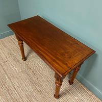 Spectacular Victorian Mahogany Antique Console Table (4 of 6)