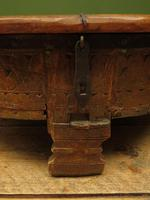 Antique Carved Indian Chakki Table Coffee Table with Lid (3 of 14)