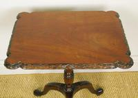 Georgian Regency Revival Mahogany Tripod Table c.1910 (2 of 5)
