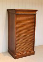 Solid Oak Lebus Tambour Front Filing Cabinet (5 of 10)