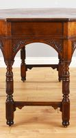 Victorian Walnut Library Table (7 of 9)