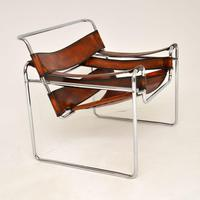 1960's Vintage Wassily Armchair by Marcel Breuer for Gavina (6 of 9)