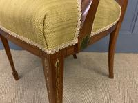 Painted Satinwood Armchair by Jas Shoolbred (13 of 14)