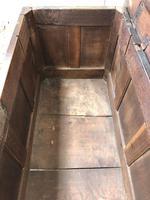 Antique Oak Blanket Box (5 of 13)