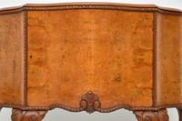 Antique Queen Anne Style Burr  Walnut Cabinet c.1920 (3 of 8)