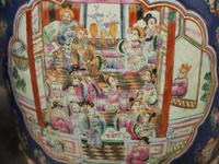 Pair of Chinese Qing Dynasty Painted Barrels / Seats (10 of 17)