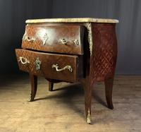 French Stamped Louis XV Kingwood Bombe Commode (5 of 13)