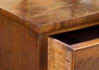 Early 19th Century Flame Mahogany Bow Chest (6 of 7)