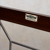Oak Leaded Glass Bookcase (8 of 15)