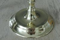 Pair of Quality 17th Century Style Brass Candlestick Pearson Page c.1910 (4 of 9)