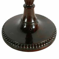 Pair of Mahogany Candlestick Lamps (7 of 8)