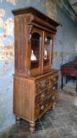 Scottish Scumbled Pine Grained Kitchen Crofters Cabinet (2 of 5)