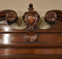Early 18th Century Black Walnut Carved Wall Mirror (2 of 5)