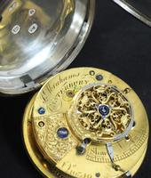 Antique ChrAntique Silver Open Case Pocket Watch Fusee Verge Escapement Key Wind F Hiahams Canterburyonograph Pocket Watch Sweeping Stop Start Seconds Hand Swiss Made Key Wind. (2 of 12)
