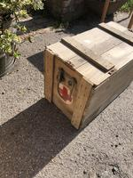 Vintage Wooden Crate Box with Red Cross Logo (3 of 10)