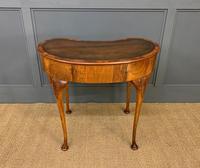 Burr Walnut Kidney Shaped Table (11 of 12)