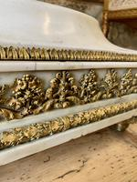19th Century French White Marble Stand with Ormolu Decoration (4 of 8)