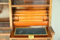 Edwardian Inlaid Rosewood Bookcase (10 of 12)