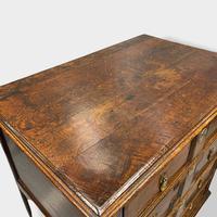17th Oak Geometric Chest of Drawers (4 of 11)