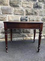Antique Walnut Writing Library Table (5 of 8)