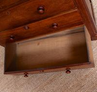 Walnut Chest of Drawers Victorian 19th Century (9 of 11)