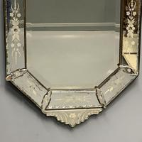 19th Century Cut & Etch Venetian Mirror (7 of 10)
