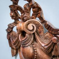 Carved Walnut Cartouche (4 of 6)
