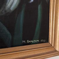 Large Framed Oil on Canvas Still Life Painting by Mark Ramsden 'Signed' (3 of 6)