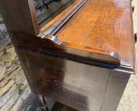 Antique Georgian Oak Potboard Dresser (21 of 28)