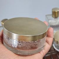 Exceptional Asprey HM Silver Gilt Fittings in Leather Case c.1935 (17 of 27)