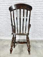 Large 'Grandfather' Windsor Armchair (6 of 6)