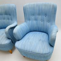 Pair of Swedish Vintage Armchairs by Carl Malmsten (5 of 6)