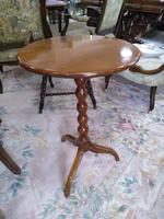 Elm George III Tilt Top Table