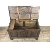 Antique 18th Century Oak Coffer (13 of 16)