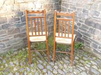 Pair of Arts & Crafts Scottish Chairs by E.A.Taylor (9 of 10)