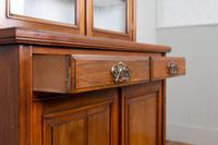 Handsome Victorian Walnut Glazed Bookcase C1890 (10 of 12)