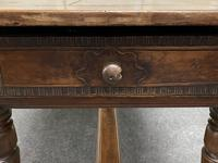 Early 18th Century French Walnut Console Table (19 of 28)