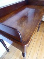 English Early 19th Century Mahogany Side Table (4 of 6)