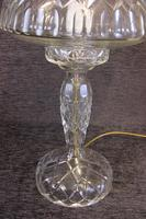 Quality Cut Glass Mushroom Table Lamp (4 of 6)