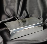 Late 1920's Silver Cigar Case (3 of 6)