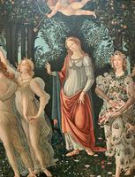 After Sandro Botticelli Large 20th Century Old Master Framed Coloured Print (7 of 13)